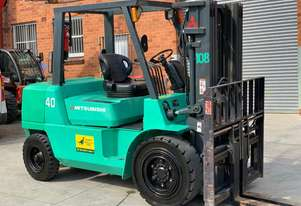 Mitsubishi 4T Diesel Forklift for HIRE from $300pw + GST