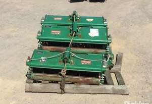 5 x Ransomes Verticut 5 x 800mm Flail Mower Deck Attachments To Suit Ransomes.