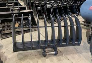 ROO ATTACHMENTS - STICK RAKE 1500 MM WIDE TO SUIT 8 TON EXCAVATOR