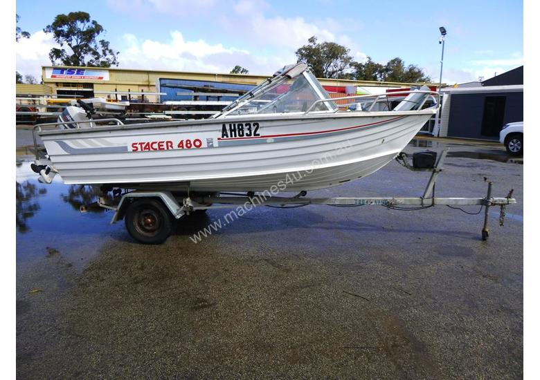 OMC Stacer 480 Single Hull Aluminium Boat
