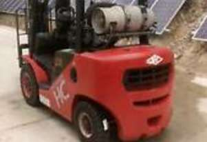 Nissan Forklift 3 stage container
