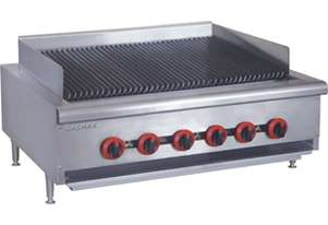 QR-36ELPG LPG Gas 6 Burner Char Grill Top