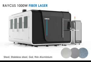 Fully enclosed Industrial Fiber Metal laser - 1000W+ 1.5x3m - Delivery/installation included!