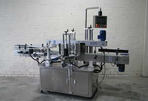 Flamingo Automatic Double Side and Wrap Around Bottle Label Applicator Labeler