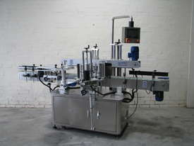 Flamingo Automatic Double Side Square Bottle Label Applicator Labeler - picture0' - Click to enlarge