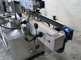 Flamingo Automatic Double Side Square Bottle Label Applicator Labeler - picture1' - Click to enlarge