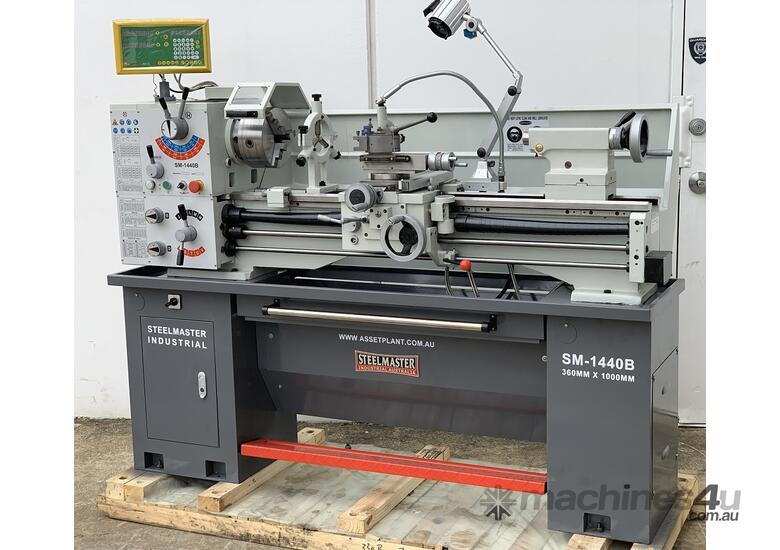 2 Speed Box - 16 Speed Centre Metal Lathe with 51mm Spindle Bore & Loads More