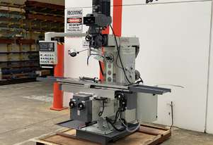 Universal Turret Mill with Huge 1300mm Travel & 1600mm Set Up Area - Servo Drive