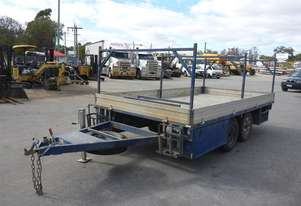 2016 Custom Made Tandem Axle Flat Top Plant Trailer