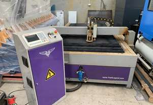 Late Model 1500mm x 3000mm Gantry CNC Plasma With Extra Etching Head Included
