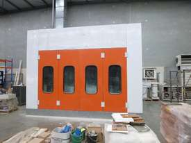 Industrial Pressurised Spray Booth with 3 Sections of Ducting  - picture0' - Click to enlarge