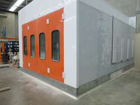 Industrial Pressurised Spray Booth with 3 Sections of Ducting  - picture1' - Click to enlarge
