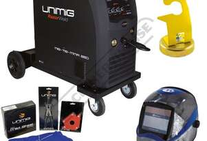COMPACT 250K INVERTER Multi-Function Welder-MIG-TIG-MMA Package Deal 10-250 Amps, #KUMJR250K-SG Incl