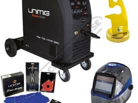 COMPACT 250K INVERTER Multi-Function Welder-MIG-TIG-MMA Package Deal 10-250 Amps, #KUMJR250K-SG Incl - picture0' - Click to enlarge