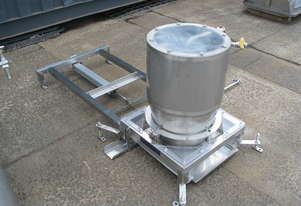 Stainless Steel Pavlova Cake Large Depositor - Line Engineering