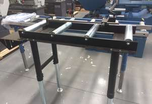 Calibrated Length Stop Roller Conveyor Kit, 350mm x 1000mm Linear Measuring System & Flip Up Length