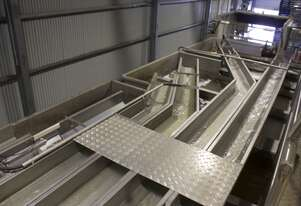 Wyma Flumes - Very gentle on product