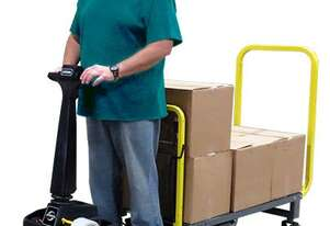 Tug - Battery Electric Stand-on C/w Deck & Pin Hitch 340kg Cap