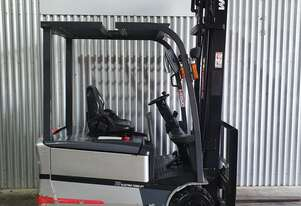 TCM 1.8T 3 Wheel Electric Forklift with new $5,000 battery!