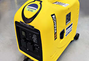 New 2.5kW Kompak Digital Inverter Generator