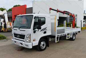 2020 HYUNDAI MIGHTY EX8 Truck Mounted Crane - Tray Top Drop Sides - Tray Truck