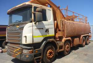Scania   2010 R8X4 Water Truck