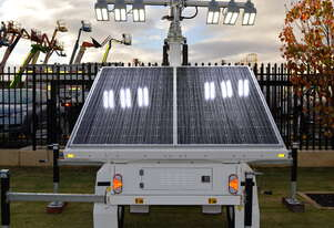 Excellent Long term hire rates available LED Solar lighting tower