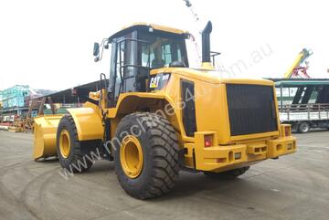 CATERPILLAR 950 H LOW HOURS NEW PAINT AND TYRES