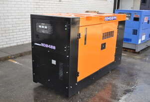 37.5 KVA Isuzu Silenced Industrial Diesel Generator Set Exceptionally Well Priced to Sell Fast