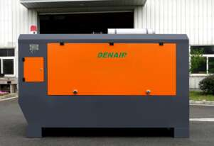DENAIR 125HP Cummins Diesel Skid Mount/Wheels Air Compressor 300CFM 10Bar