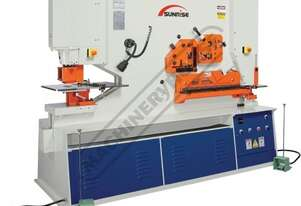 IW-165SDH Hydraulic Punch & Shear - 165 Tonne Dual Hydraulic Cylinders with Independent Operating St
