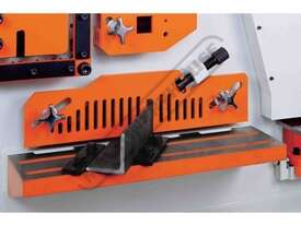 IW-165SDH Hydraulic Punch & Shear 165 Tonne, Dual Independent Operation Includes Hydraulic Plate Cla - picture13' - Click to enlarge