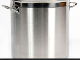 50L COMMERCIAL STAINLESS STEEL STOCK POT - picture5' - Click to enlarge