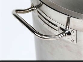50L COMMERCIAL STAINLESS STEEL STOCK POT - picture2' - Click to enlarge