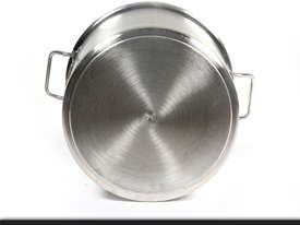 50L COMMERCIAL STAINLESS STEEL STOCK POT - picture4' - Click to enlarge