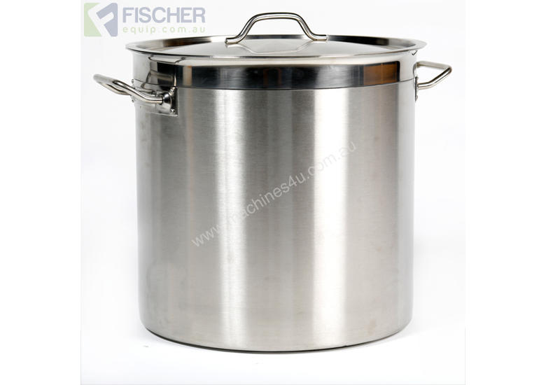 50L COMMERCIAL STAINLESS STEEL STOCK POT