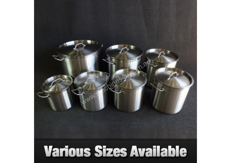 New Fischer 50l Commercial Stainless Steel Stock Pot Pots