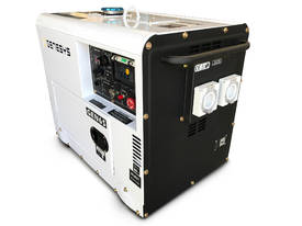 Portable Diesel Generator 6KVA 415V Silenced - 2 Years Warranty - picture3' - Click to enlarge