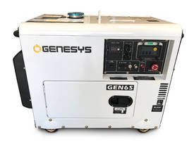 Portable Diesel Generator 6KVA 415V Silenced - picture2' - Click to enlarge