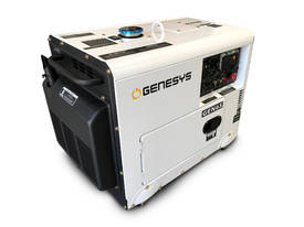 Portable Diesel Generator 6KVA 415V Silenced - picture0' - Click to enlarge