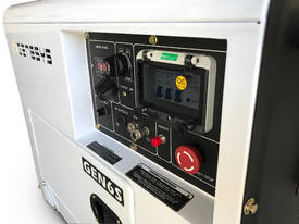 Portable Diesel Generator 6KVA 415V Silenced - picture4' - Click to enlarge
