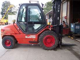 Used Manitou Counterbalance Forklift - picture3' - Click to enlarge