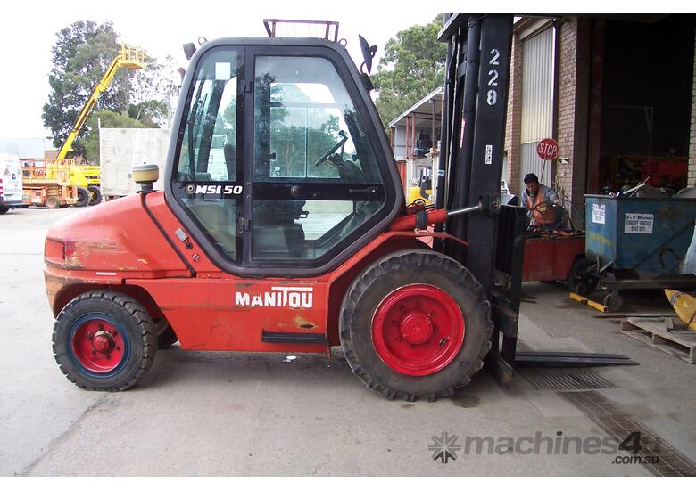 Used Manitou Counterbalance Forklift
