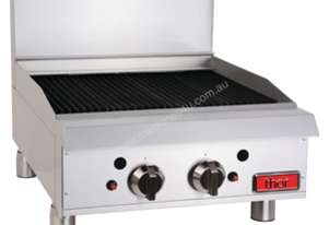 Thor Freestanding Char Broiler 2 Burner 600mm LPG