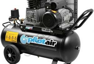 TM300i Pilot Air Compressor 50 Litre Tank / 2hp 10.7cfm / 304lpm Displacement