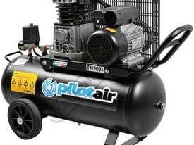 TM300i Pilot Air Compressor 50 Litre Tank / 2hp 10.7cfm / 304lpm Displacement - picture0' - Click to enlarge