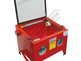 SB-100 Sandblasting Cabinet Recommended to be used