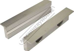 V0531 Aluminium Magnetic Soft Jaws Aluminium Face 125mm