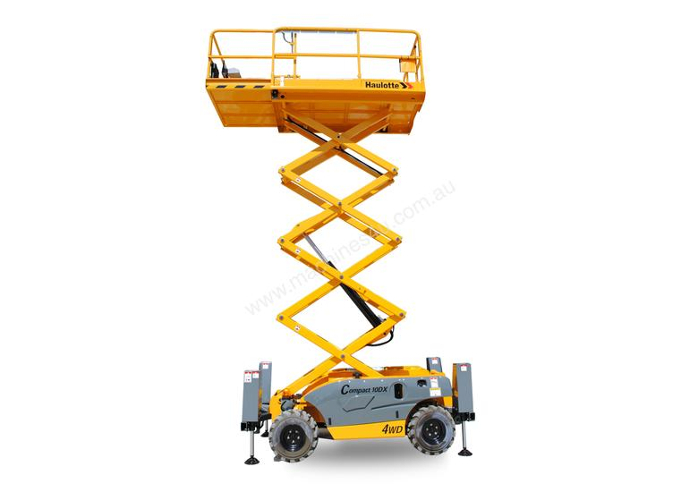 new haulotte compact 12 dx slab use scissor lift in villawood nsw rh machines4u com au Haulotte Group North America Haulotte Lifts