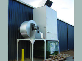 Dust Extraction Shaker Filter Unit Model S40 - picture0' - Click to enlarge